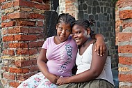 Local girls at Dutch Reformed Church